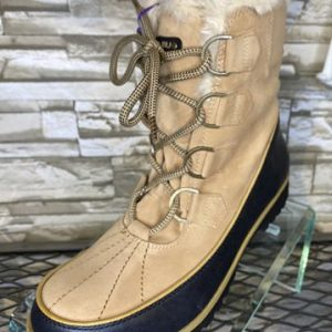 JBU Tan Mid-Calf Boot