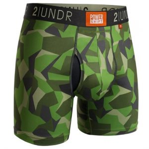 2Undr Power Shift 6″ – Green Camo