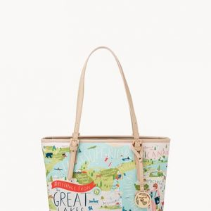Spartina 449 Great Lakes Small Zip Tote
