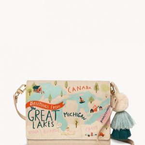 Spartina 449 Great Lakes Embroidered Convertible Crossbody