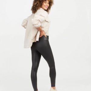 Spanx Faux Leather Legging Black