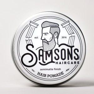 Samsons Haircare Semimatte Finish Hair Pomade