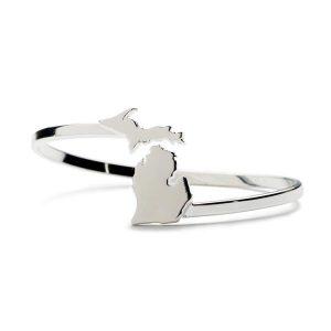 Michigan Wrap Bangle Bracelet