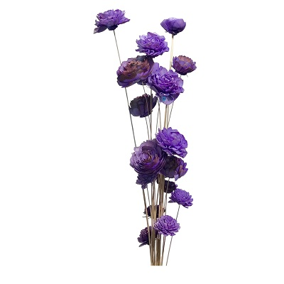 20 Stem Ting Mixed Flower Branches – Lavender
