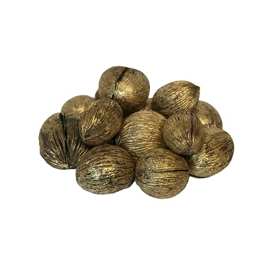 14 Mintola Ball Brushed Gold 3-4 inch