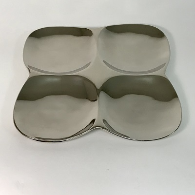 4-SECTION Serving PLATE