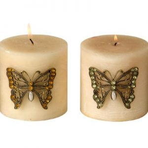 CANDLE PIN(BUTTRFLY)4PCS