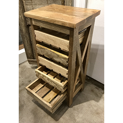 5 Drying Trays Table Rack