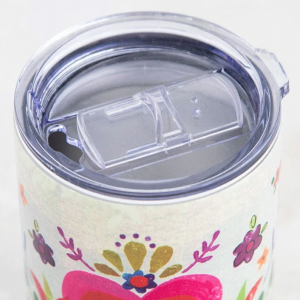 Natural Life Lowball Stainless Tumbler Cup of Happy